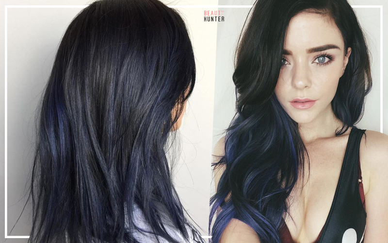 Midnight Blue Hair