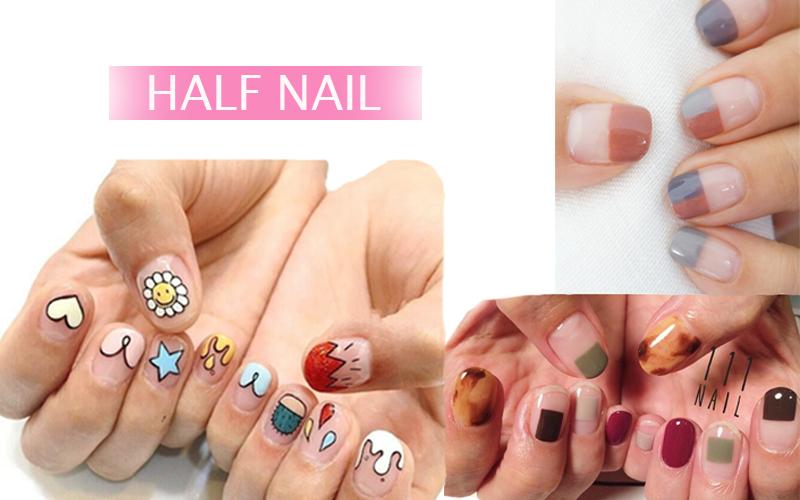 half nail