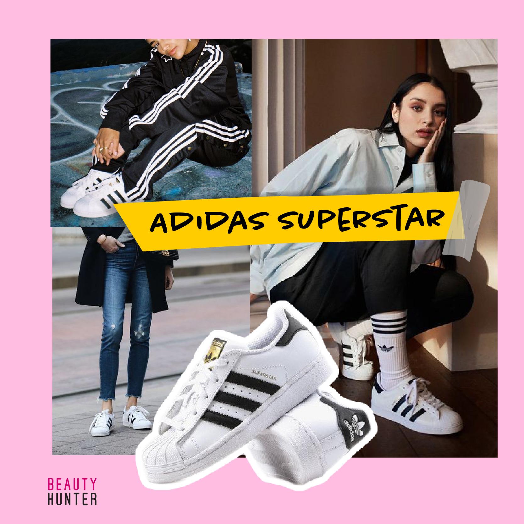 รองเท้าผ้าใบ Adidas Superstar