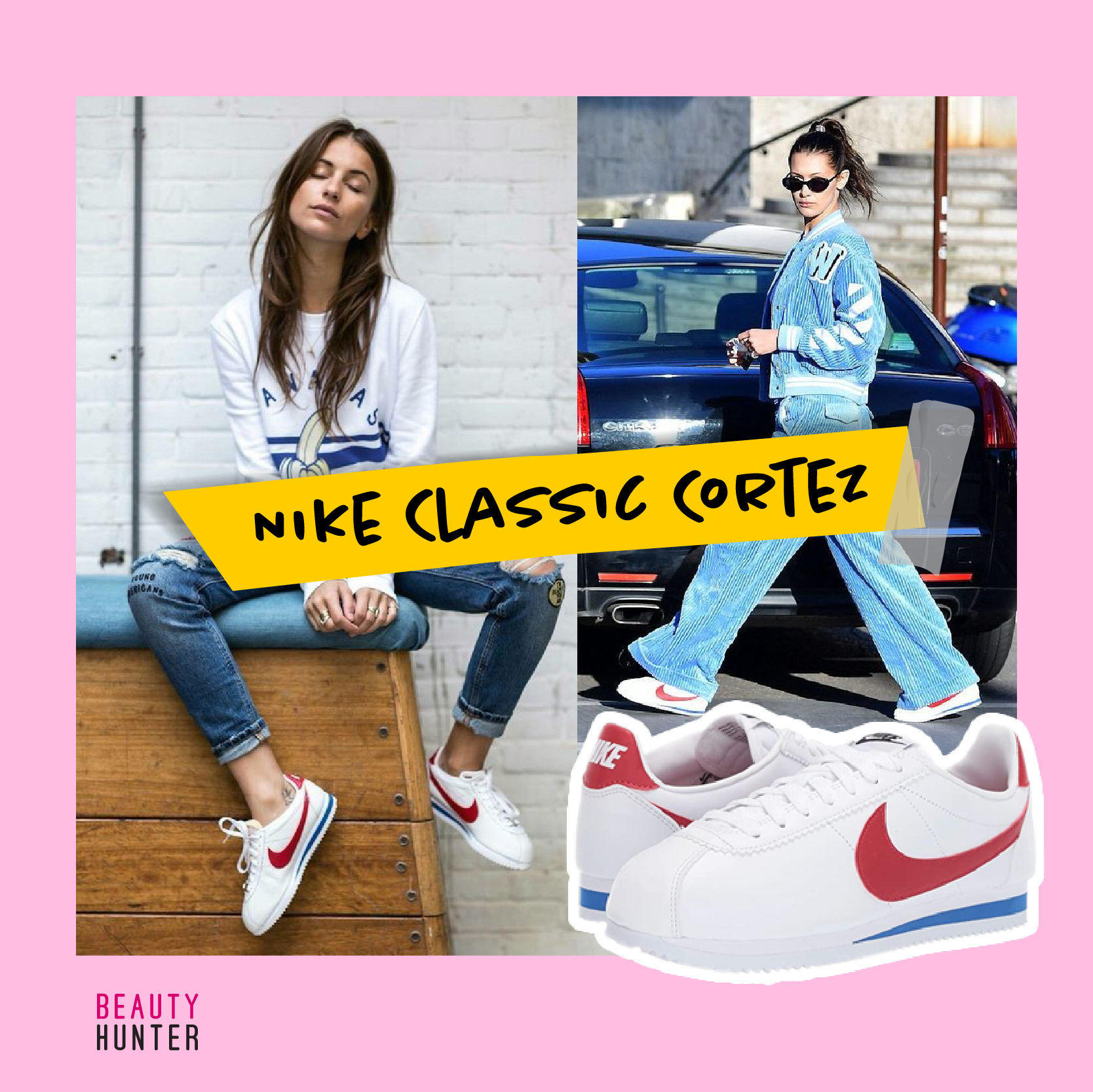 รองเท้าผ้าใบ Nike Classic Cortez