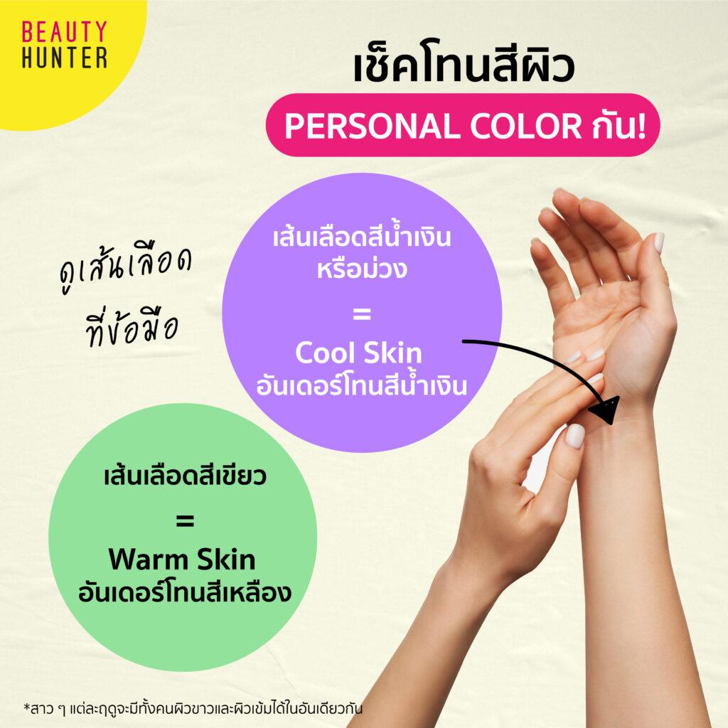 ย้อมสีผมตามสีผิว