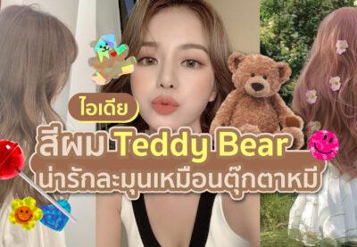 """""""ผมสีน้ำตาล"""" Teddy Bear น่ารักละมุนเหมือนตุ๊กตาหมี"""